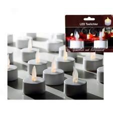2 X LED Teelicht mit Kerzen Flackern