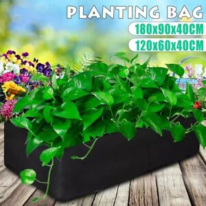 Garden Grow Bags Fabric Raised Plant Bed Planting Flower Vegatable Containe