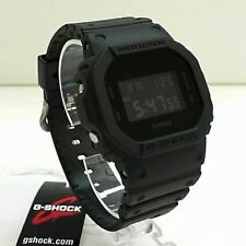 New Casio G-Shock Matte Black Watch DW-5600BB-1