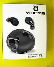 YINEME Noise Cancelling Wireless Stereo Earbuds Bluetooth 5.0 built in Mic 18hr