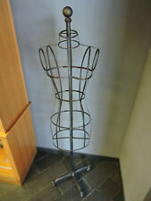 Mannequin Metal Female Torso Form Clothing Display With Stand