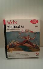 Adobe Acrobat 5.0 Education Version - Full Version for Windows 22001439 NEW