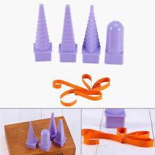 4pcs/set Purple Paper Craft Quilled Art Tool Paper Quilling Bobbin Tower