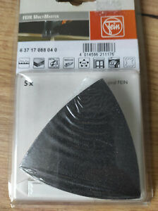 FEIN 63717088040 Sanding Sheet Unperforated Grit 180 (2X5PCS)