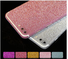Glitter Phone Stickers Skin iphone 5 5s 6 6s Samsung S6 S7 Edge Bling Full Cover