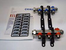 Heizkreisverteiler 3 Kreise Kelox KM580E Heizungsverteiler Radiatoren Verteiler