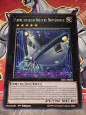 Carte Yu Gi Oh PAPILLOCOEUR INSECTE NUMERIQUE SHVI-FR055 x 2