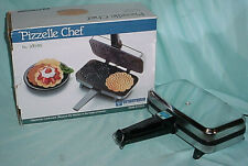 Vitantonio Pizzelle Chef 300 NS Italian Holiday Cookie Maker Krunkake Iron NICE