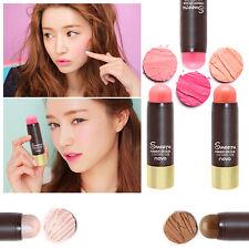 New Highlight Stick Shimmer Contour Cream Matte Blush Blusher Bronzer Pen Makeup