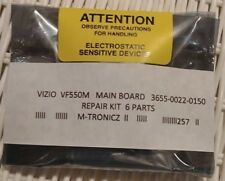VIZIO  VF550M   MAIN BOARD  3655-0022-0150  REPAIR KIT  6 PARTS  EEPROM INCLUDED