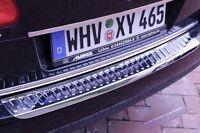 Ladekantenschutz Edelstahl Abkantung Stoßstange für VW Passat 3C B6 Variant
