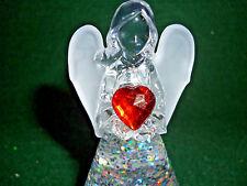 Hallmark Bag JANUARY Angel Red Heart Birthstone FREE SHIP Lighted NEW