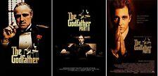 The Godfather Trilogy Movie Poster Bundle Part 1 2 3 I Ii Iii - New 11x17 13x19