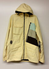 QUIKSILVER Men's MARKKU Snow Jacket - YEL - Large - NWT
