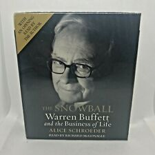 The Snowball Warren Buffett and the Business of Life ,Audiobook, 8 CD NEW SEALED