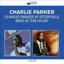 CHARLIE PARKER At Storyville/Bird At The Hi-Hat 2CD BRAND NEW