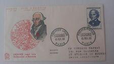 FRANCE PREMIER JOUR FDC YVERT 1146 LAGRANGE JOSEPH 8F PARIS 1958