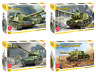 ZVEZDA USA/ Soviet / German Tanks and Vehicles of WWII Model Kits 1:35 Unpainted
