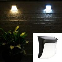 Ee _ Qa _ Ne _ Solar Montaje Pared 3LED Exterior Paisaje Lamp Garden Yarda Noche