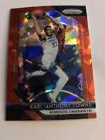 2018-19 Prizm KARL-ANTHONY TOWNS Red Ice Prizms REF -