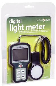 HydroFarm Portable Digital Light Meter (Footcandles) Sensor Measure BAY HYDRO $$