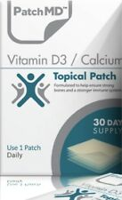 PatchMD Vitamin D3 with Calcium Topical Patch 30-patches, 2020 Exp. Patch-MD