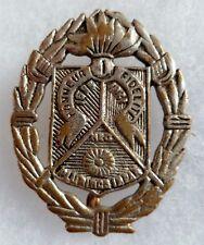 Insigne Légion Etrangère Indochine ORIGINAL 1° REC EO BERET Grenade a 7 flammes