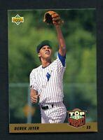 1993 Upper Deck Top Prospect Derek Jeter RC Yankees #449 EX-MT+