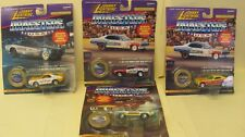 Vintage Lot Of 4 1995 Johnny Lightning Die Cast cars