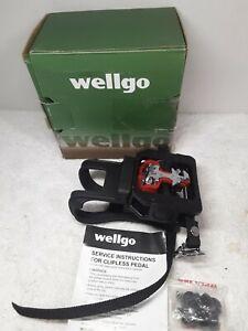 "Wellgo WPD-E003 9/16"" Thread Shimano SPD Compatible Spin Bike Pedal"