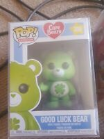 Funko carebears pop! Good luck bear in a sleeve vynil figure 355