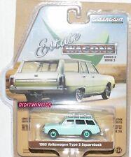 Greenlight Domaine Wagon 1965 Volkswagen Type 3 Squareback Vert Machine W+