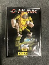 Transformers FansToys FT-42 HUNK BRAWN Masterpiece ?? Seller New!
