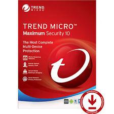 Trend Micro Titanium Maximum Security 10- 2017/2016 1 Year 3 Devices License key