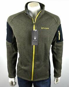 SPYDER Men's Poly Active Sporty Full Zip Jacket - 205024