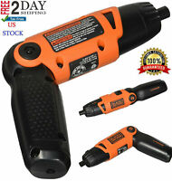 Electric Cordless Screwdriver Drill Power Tool Rechargeable Lithium Driver Set.