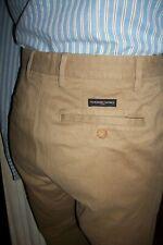 Pantalon coton beige MARLBORO CLASSICS Slacks 38FR46EU braguette zip TS17