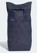 Adidas Originals 3D Roll Top Backpack DT6295 NAVY Unisex Bag Laptop Sleeve