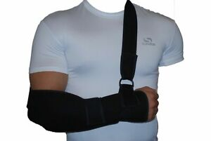 Universal Arm Elbow Shoulder Sling Support – Comfortable Padded Breathable NHS