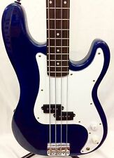 Jayturser P BASS USA chitarra basso nel See Thru Blue ottime condizioni