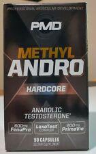 PMD - Methyl Andro - Hardcore - 90 Capsules - Dietary Supplement