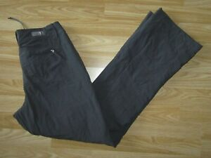 """Womens THE NORTH FACE Grey Nylon Ski Winter Trousers Size US 6 / waist 31"""" Great"""