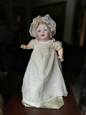 "Antique German Bisque 13"" Hertel Schwab & Co. Baby Doll Free Ship"