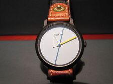 LOOK TIME SWISS OROLOGIO DESIGN NERO  QUARZO  NUOVO, FONDO DI MAGAZZINO NOS