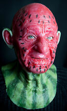 "Silicone Mask ""Mr Watermelon"" Hand Made, Halloween  High Quality, Realistic"