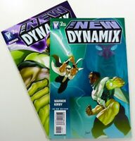 WILDSTORM Comics THE NEW DYNAMIX (2008) #2-3 Lot VF/NM Ships FREE!