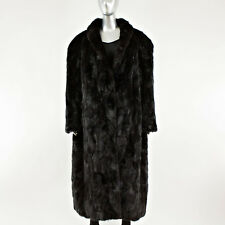 Ranch Mink Fur Sections Coat - Size XL