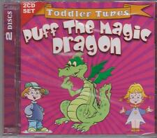 PUFF THE MAGIC DRAGON  - TODDLER TUNES on 2 CD's -- NEW -