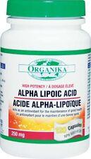 ORGANIKA ALPHA LIPOIC ACID high potency anit oxidant wrinkle control 新陳代謝的抗氧化劑