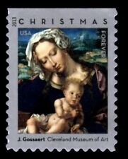 2013 46c Christmas Madonna & Child by Jan Gossaert Scott 4815 Mint F/VF NH